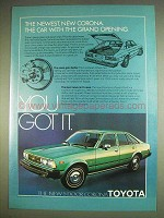 1979 Toyota Corona Ad - Car With the Grand Opening