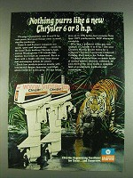 1978 Chrysler 6 and 8 Outboard Motors Ad - Purrs