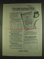 1978 Fidelity Group Ad - Our Tax-Free Fund