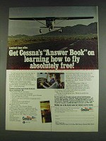 1978 Cessna Pilot Center Ad - Learning How To Fly