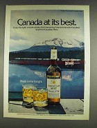 1978 Canadian Mist Whisky Ad - At Its Best