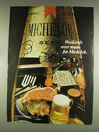 1978 Michelob Beer Ad - Weekends Were Made
