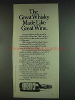 1978 Old Forester Whisky Ad