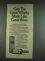 1978 Old Forester Whisky Ad - Made Like Great Wine