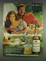 1978 Windsor Canadian Whisky Ad - Smooth Canadian