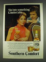1978 Southern Comfort Ad - Sip Into Comfortable