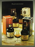 1978 Couvoisier Cognac Ad - Why Give Less