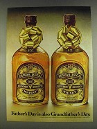 1978 Chivas Regal Scotch Ad - Grandfather's Day