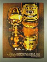 1978 E&J Brandy Ad - Reflected Glory