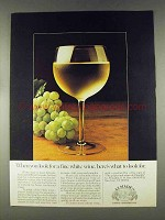 1978 Almaden Pinot Chardonnay Wine Ad - Look For
