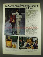 1978 Amaretto di Saronno Ad - Think About Love