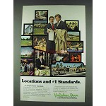 1978 Holiday Inn Ad - Locations and #1 Standards
