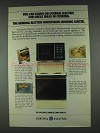 1978 General Electric Microwave Cooking Center Ad - Count On