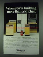 1978 Whirlpool Appliances Ad - More Than a Kitchen
