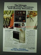 1978 Litton Micromatic Double-Oven Range Ad - Ultimate