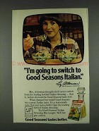 1978 Good Seasons Italian Dressing Mix Ad - Switch