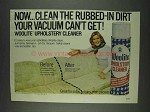 1978 Woolite Upholstery Cleaner Ad - Rubbed-in Dirt