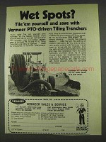1978 Vermeer PT-18 PTO-driven Tiling Trenchers Ad