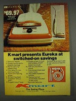 1978 Kmart Eureka Model 668A Vacuum Cleaner Ad