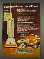1978 Kmart Eureka Model 666A and 653A Vacuum Cleaner Ad