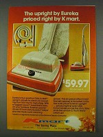 1978 Kmart Eureka Model 666A Vacuum Cleaner Ad