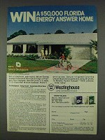 1978 Westinghouse Light Bulbs Ad - Energy Answer Home