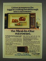 1978 Litton Microwave Ad - Biggest Breakthrough