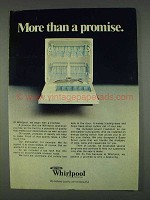 1978 Whirlpool Dishwasher Ad - More than a Promise