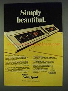 1978 Whirlpool Washer and Dryer Ad - Beautiful