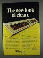 1978 Whirlpool Washer and Dryer Ad - Look of Clean