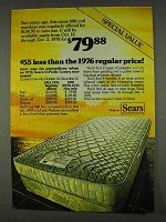 1978 Sears-O-Pedic Mattresses Ad