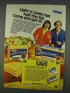 1978 Kraft Light n' Lively Cheese Ad - Come Get It