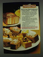 1978 Pepperidge Farm Old Fashioned Cakes Ad