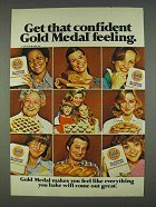1978 Gold Medal Flour Ad - Get That Confident Feeling