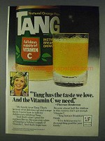 1978 Tang Orange Drink Ad - Florence Henderson - The Taste