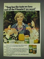 1978 Tang Orange Drink Ad - Florence Henderson