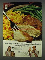 1978 Shake 'n Bake Ad - Keep Chicken Moist