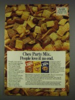 1978 Ralston Chex Cereal Ad - People Love It No End