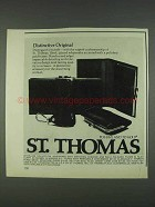1978 St. Thomas Interlude Collection Ad - Purses
