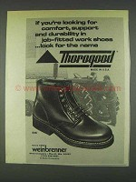 1978 Weinbrenner 646 Boots Ad - Comfort, Support