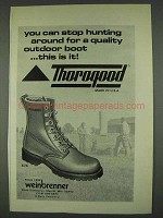1978 Weinbrenner 574 Boots Ad - Stop Hunting Around