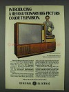 1978 General Electric Widescreen 1000 Television Ad