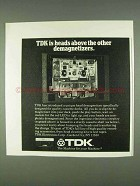 1978 TDK Head Demagnetizer Ad - Other Demagnetizers