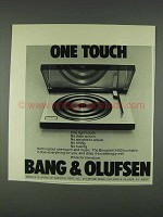 1978 Bang & Olufsen Beogram 2400 Turntable Ad