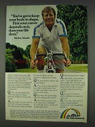 1978 AMF Bicycles Ad - Mickey Mantle