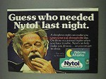 1978 Nytol Sleep Aid Ad - Last Night