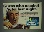 1978 Nytol Sleep Aid Ad - Guess Who Needed Last Night?