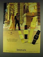 1979 Tiffany & Co. Baume & Mercier Watches Ad