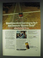 1979 Cessna Pilot Centers Ad - Questions About Learning