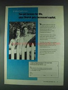 1979 United Presbyterian Foundation Ad - You Get Income